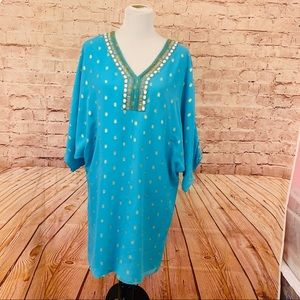 Lilly Pulitzer turquoise dress